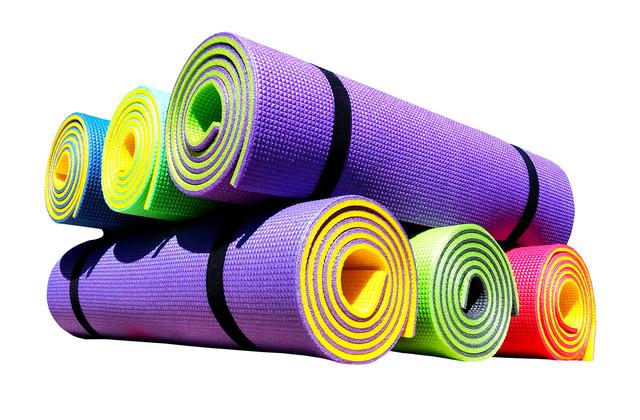 Купить коврик для йоги и фитнеса «Premium-10»