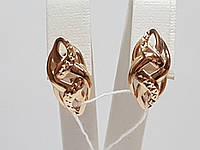 Золотые серьги. Артикул 400190, фото 1