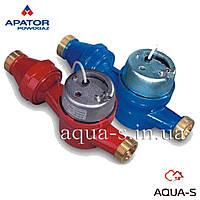 Счетчик для воды APATOR POWOGAZ JS10 ХВ DN40 одноструйный