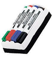 Набор маркеров с губкой для досок BuroMAX 8800-84