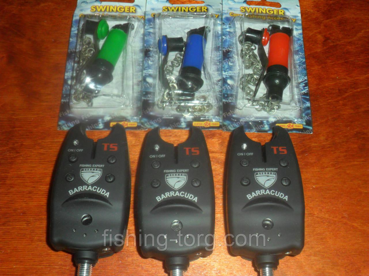 Набор сигнализаторов со свингерами barracuda