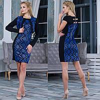 """Вечернее гипюровое платье с болеро """"Амина"""", фото 1"""