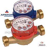 Счетчик для холодного водоснабжения APATOR POWOGAZ JS 1,5 ХВ DN15