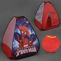Детская игровая палатка «Человек Паук»HF 047, 77х77х93см.