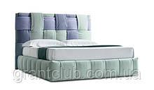 Сучасна ліжко з м'яким узголів'ям в тканини TIFFANY фабрика Felis (Італія)