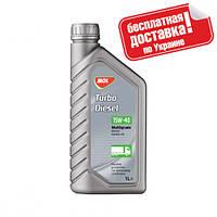 Минеральное моторное масло MOL Turbo Diesel 15W-40 - 1л