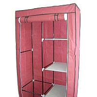 ТОП ВЫБОР! Шкаф из ткани, шкаф каркасный тканевый, Storage Wardrobe 8890, шкаф чехол, мобильный шкаф, легкий шкаф для одежды, купить шкаф