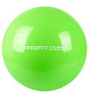 Мяч для фитнеса (фитбол) 55 см Profil MS 0381 салатовый