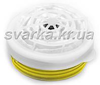 Банка Тополь марка Е1Р1 Горловка (жёлтая) кислые газы