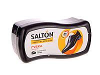 Губка для взуття хвиля (гладка шкіра) з норковим маслом чорна ТМ SALTON 1e796f9382464