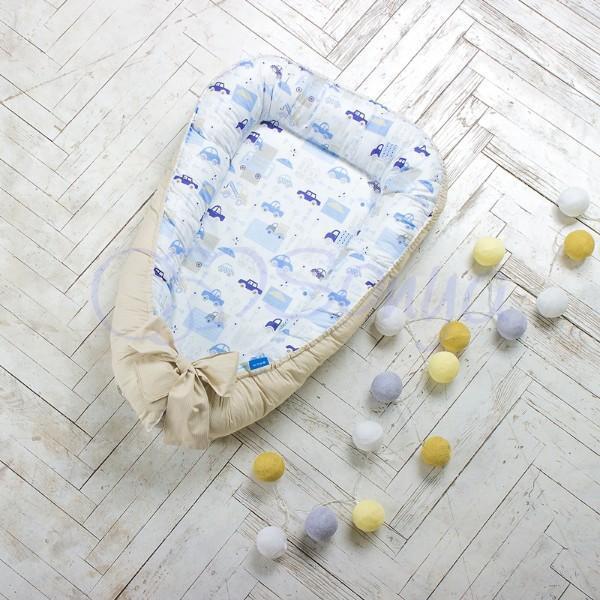 Кокон для новорожденных Baby Design Bambi