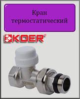 "Кран термостатический Koer KR 923-GI 3/4"" прямой"