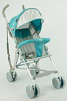 Детская прогулочная коляска JOY 108 S, голубая