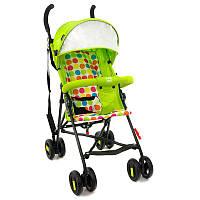 Детская прогулочная коляска JOY S 108 T, салатовая в коробке