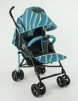 Детская прогулочная коляска JOY S 608, бирюзовая