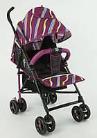 Детская прогулочная коляска JOY S 608, фиолетовая