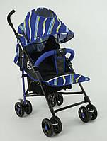 Детская прогулочная коляска JOY S 608, синяя