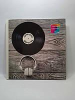 Эксмо Блокнот для худож.идей Пластинка (тв. альбомный формат 96 стр. 255х255 мм)