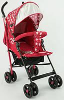 Детская прогулочная коляска JOY S 908-1 Т, красная