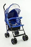 Детская прогулочная коляска JOY S 908-1 Т, синяя