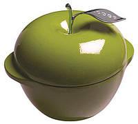 Кастрюля 2,8л в форме яблока GREEN чугун LODGE 1800072