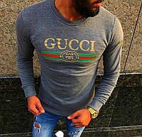 Свитшот Gucci серый