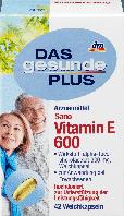 Биологически активная добавка Das Gesunde Plus Sano Vitamin E 600, 42 шт.
