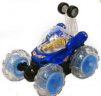 """Трюковая радиоуправляемая машинка перевёртыш """"танцующий автомобиль"""" 9293-9294 (синяя) hn ri"""