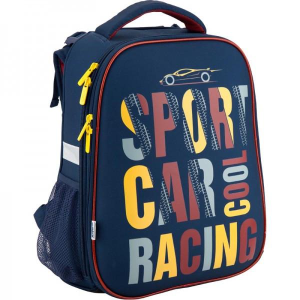 Рюкзак ранец школьный каркасний Kite 531 Car racing