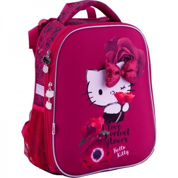Рюкзак ранец школьный каркасный 531 Hello Kitty