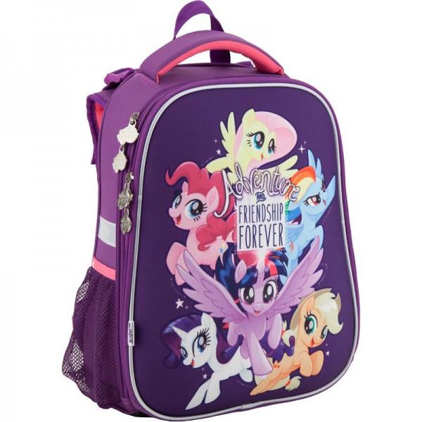Рюкзак ранец школьный каркасный 531 Little Pony