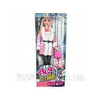 Кукла Ася Городской стиль Блондинка с аксессуарами 28 см