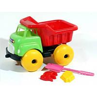 """Машина """"Пузатик"""" 07-703, детская машинка, игрушечный грузовик, лопатка, пасочки"""