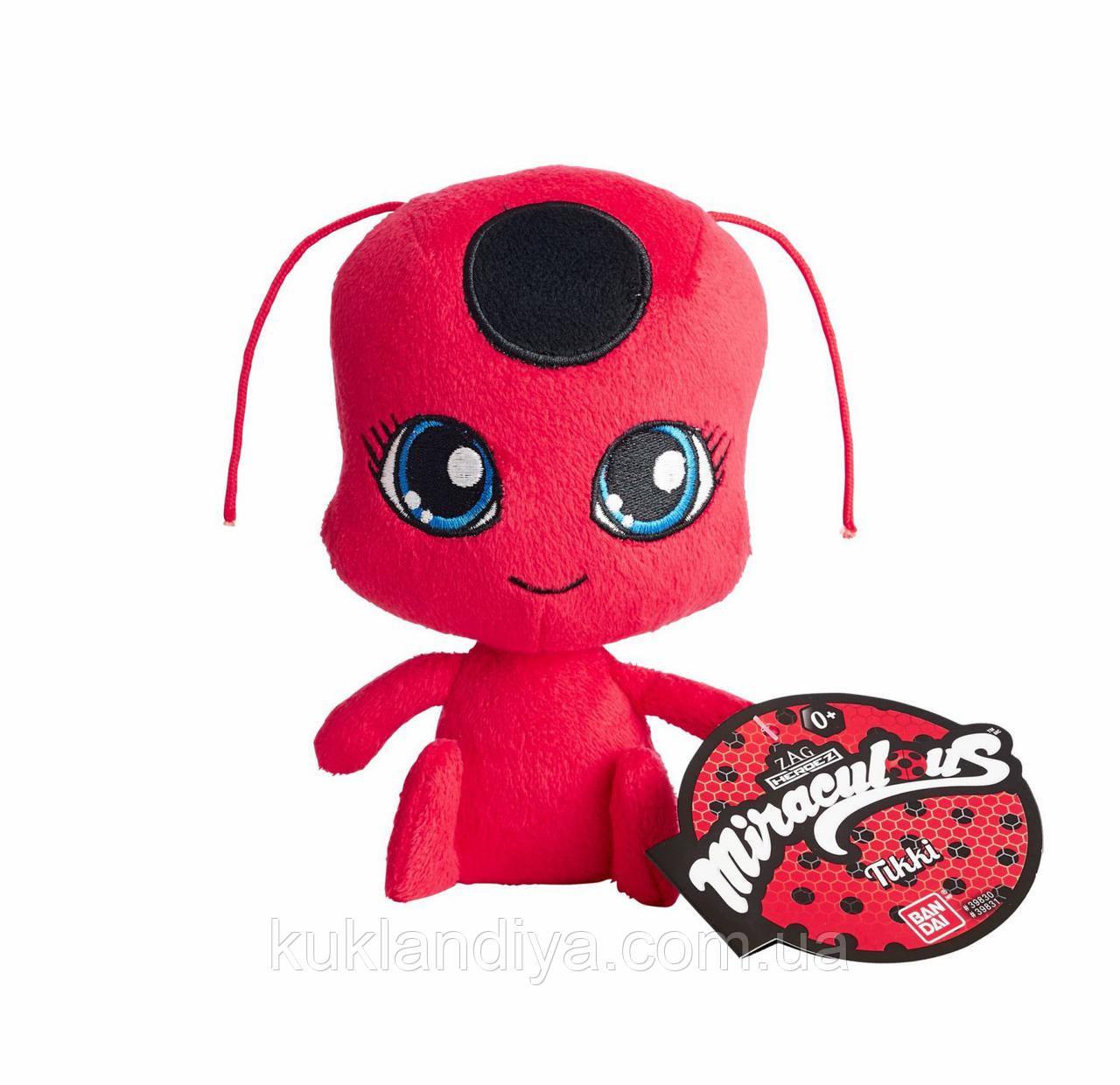 Плюшева Тіккі 14 см / Miraculous Ladybug