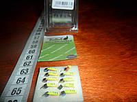 Вольфрамовая мормышка гвоздекубик гвоздешарик набором 10 штук, фото 1