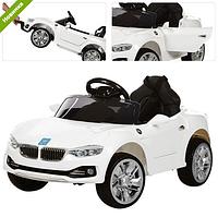 Детский электромобиль M 3175 EBLR-1 BMW, кожаное сиденье ***
