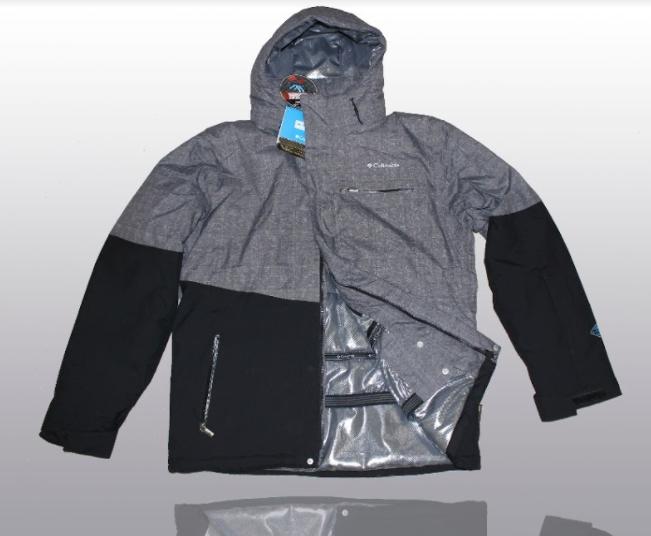 eaf40c16eb7 Мужская куртка Columbia с подъюбником (S M L XL) серая - Sport Active  People - Интернет