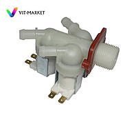 Клапан подачі води універсальний для пральної машини 3/180 D12