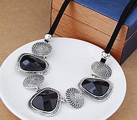 Ожерелье женское с камнями код 1364