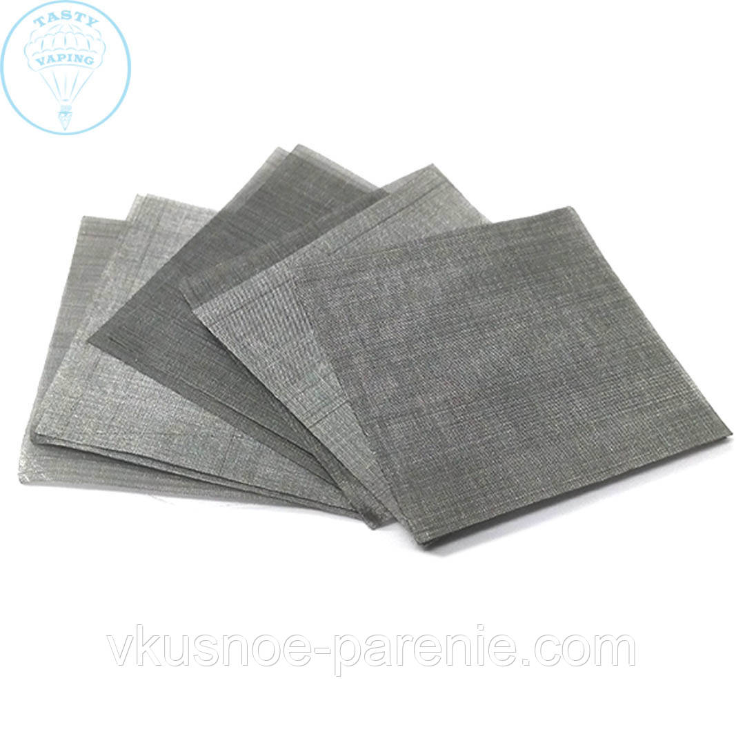 Сетка стальная нержавеющая 300 mesh (5х5 см)