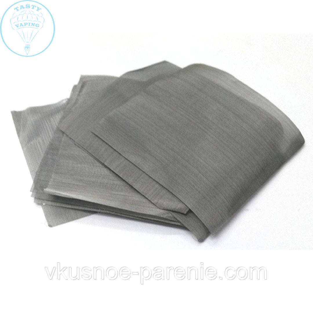 Сетка стальная нержавеющая 400 mesh (5х5 см)