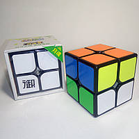 Головоломка Кубик Рубика 2х2 KungFu Yuehun Black (кубик-рубика)