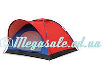 Палатка туристическая трехместная SY-010: 2х2х1,35 м