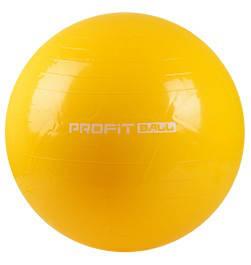 Мяч для фитнеса (фитбол) 65 см Profi MS 0382 желтый