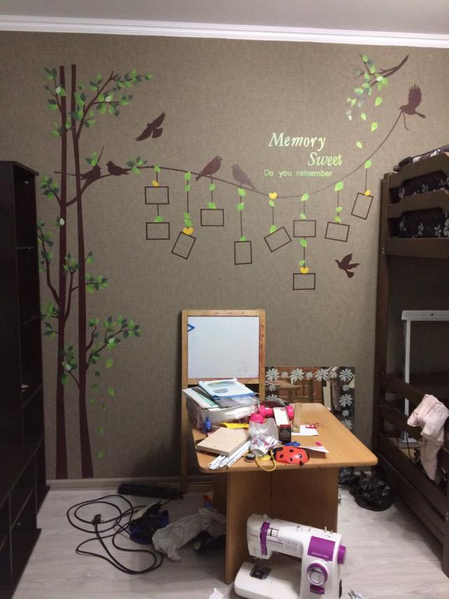 Виниловая наклейка Дерево Фото