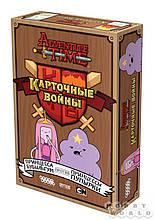 Настольная игра «Время приключений: Карточные войны. Принцесса Бубыльгум против Принцессы Пупырки»
