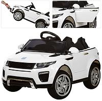 Детский электромобиль M 3213 EBLR-1 Land Rover, мягкое сиденье, белый ***
