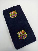 Напульсник Барселона синий