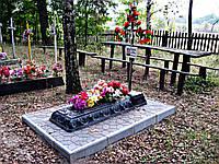 Надгробия на могилу (Черный)