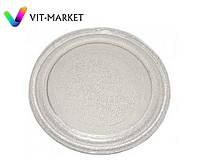 Стеклянная тарелка (поддон, блюдо) для микроволновки LG диаметр 284 мм код 3390W1G003A